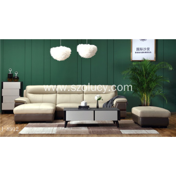 Leading for Genuine Leather Sofa Three Seat Leather Sofa supply to United States Exporter