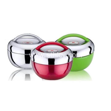 Apple Shape Stainless Steel Lunch Box