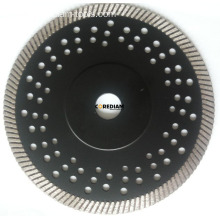 "Sintered Turbo Blade with ""Reinforced Ring"""