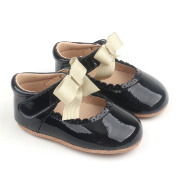 Soft Leather Toddler Girls Fashion Baby Shoes