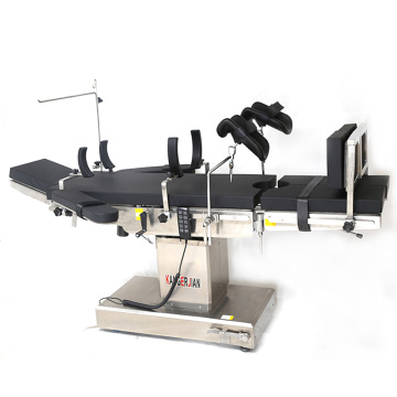 Motor driven operating table