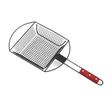 BBQ Grill top rack basket
