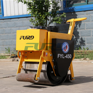 Easy Operated Mini Vibrating Road Roller For Surface