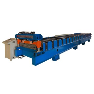 Corrugated Roll Forming Machine For 0.16mm Aluminium Plate