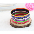 Drop Engraved Metal Aluminum Bangles Cheap Bangles For Girls