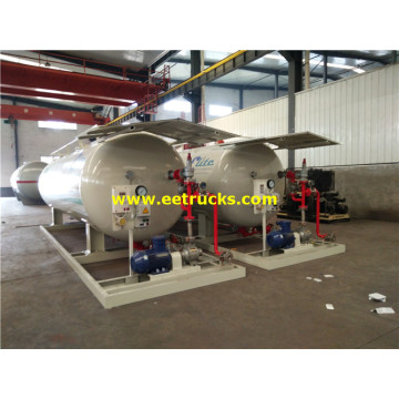 25000 Liters Mobile LPG Skid Tanks