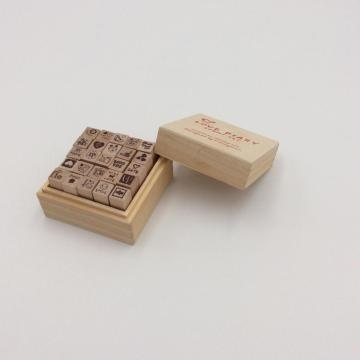 new design baby wooden stamp