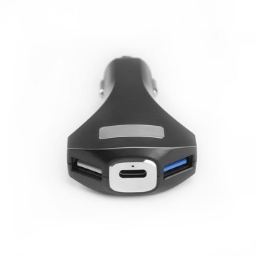 Dual USB Type-c Mini Fast USB Car Charger