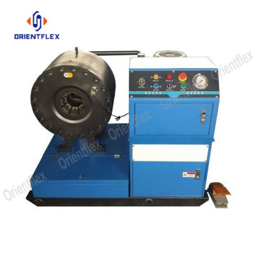 Reliable 6 inch hydraulic hose crimping machine HT-91F