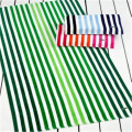 Custom Logo Striped Beach Towel