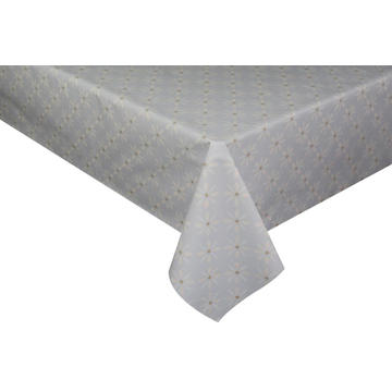 Elegant Tablecloth with Non woven backing Sarah