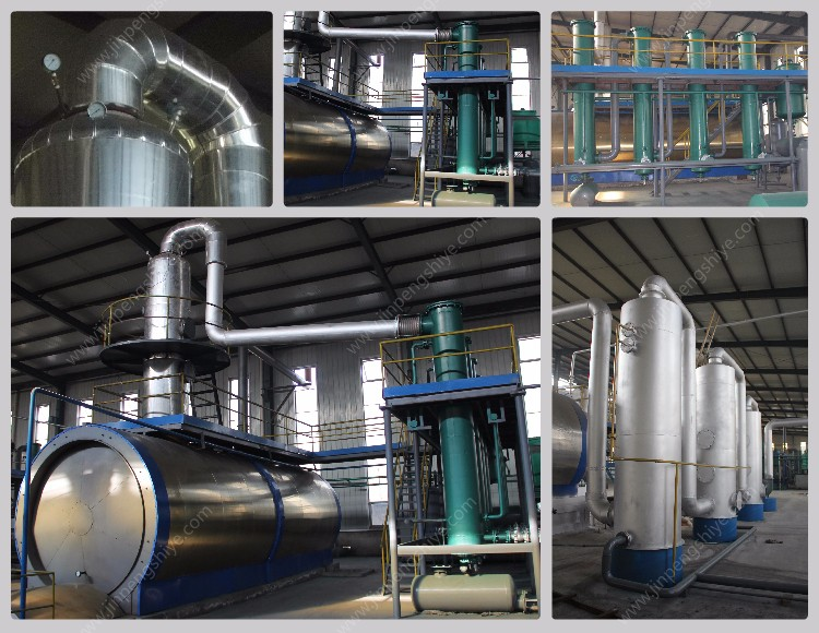Waste Plastic Oil Distillation Plant