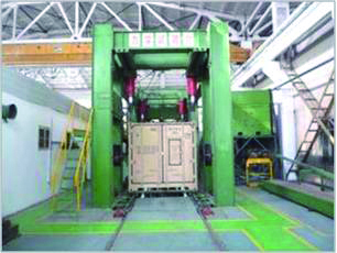 Structural test for Prefab Workshop Container Type