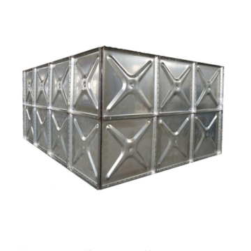 Storage Hot Dipped Galvanized Steel Water Tank
