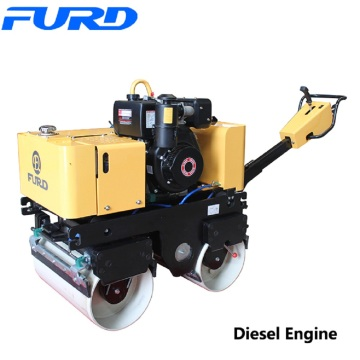 Hot selling attractive for Walk-Behind Double Drum Roller,Manual Roller Compactor,Walk Behind Roller Manufacturer in China Walk Behind Baby Double Drum Hand Roller Compactor export to Morocco Factories