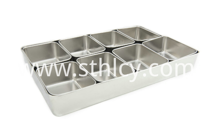 Stainless Steel Seasoning Jarlm458