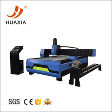 Round pipe plasma cutting machine