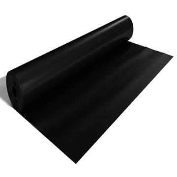 LDPE Material and Black Color 1.5mm HDPE geomembrane used in fish farm