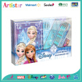 Disney Frozen notebook stationery set