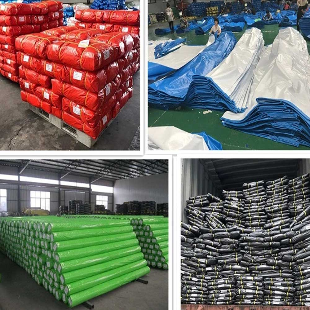 Orange PE Tarpaulin Insulated Construction Tarp Concrete Curing Blankets