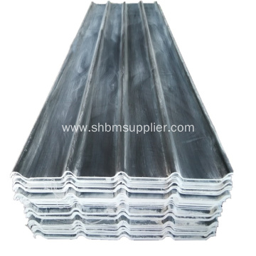 Gray PET Film Magnesium Oxide Roof Sheet