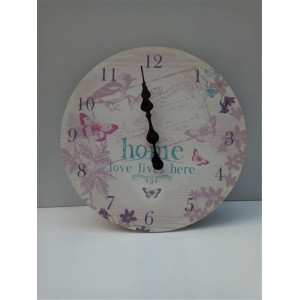 Factory Supplier for Wooden Table Clock Round Printing Wooden Clock Hnging supply to China Hong Kong Manufacturers