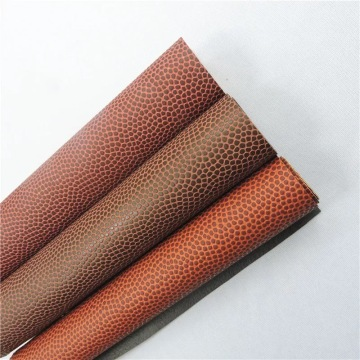 1.2mm Elastic Pu Ball Leather Waterproof Non-woven Backing