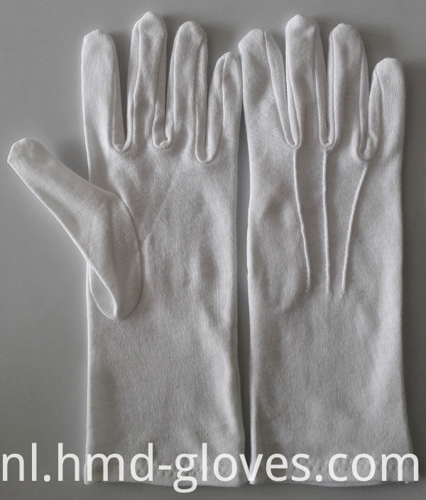 Formal white glove cotton