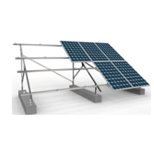 China for Steel Support Solar Double Roll C Section Steel PV Bracket supply to Cambodia Supplier