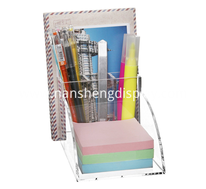 Acrylic Desktop Office Supplies Organizer Storage Holder