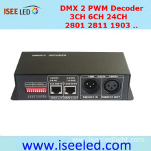 RGB LED Strip Controller DMX PWM Decoder