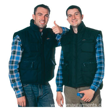 65% polyester 35% cotton body warmer
