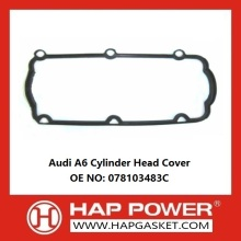 Factory making for China Durable Valve Cover Gasket, Rubber Valve Cover Gasket, Wear Resistant Valve Cover Gasket Supplier Audi A6 cylinder head cover 078103483C export to Turks and Caicos Islands Importers