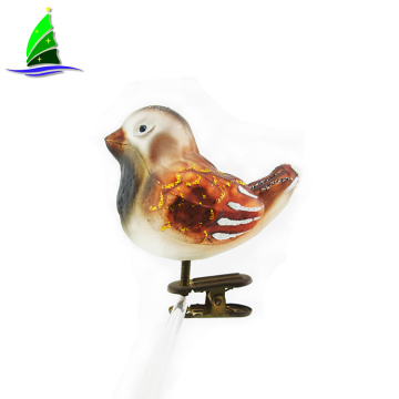 Birds decorative glass glass hanging ornaments