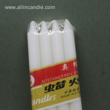 stick shape white household candles on sale