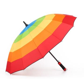 Promotional with rainbow Advertising Umbrella