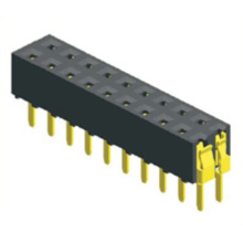 2.54mm Female Socket Connector Dual Row Straight