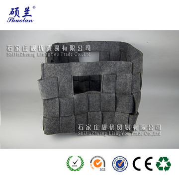 Good quality customized felt storage bag basket