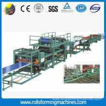 Good Quality for PU Foam Sandwich Panel Machine Sandwich Roof Panel Roll Forming machine export to Nicaragua Manufacturers