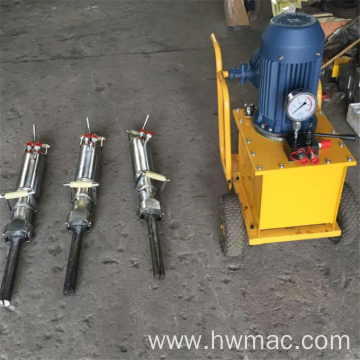 Factory Directly Supply Manual Rock Hydraulic Splitter