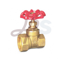 Brass reducing gate valves