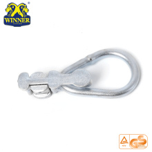 High Quality for Delta Rings Zinc Plated Factory Price Double Stud Fitting With Oval Ring export to Libya Importers