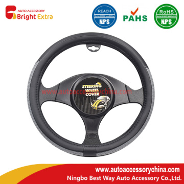Hot sale for Wood Grain Steering Wheel Covers New Arriveal Real Leather Steering Wheel Covers export to Sudan Manufacturer