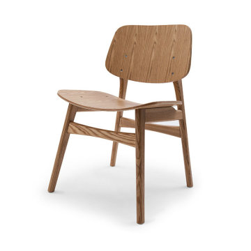 Solid wood replica Soborg chair for cafe shop