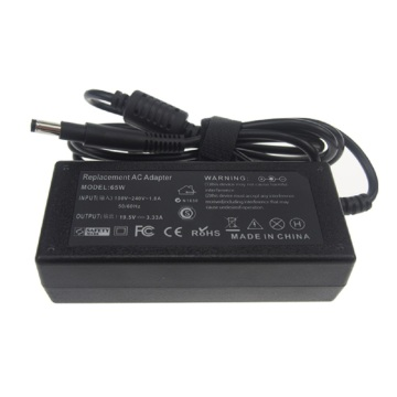 19.5v 65w ac power supply adapter for HP
