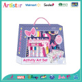 90pieces Cute activity carry art set