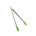 15 Inch Soft Handle Silicone Grill Tongs