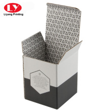 Glass bottle medium packing box