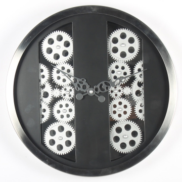 16 Inches Gear Clock With Paralleled Pattern