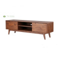 W1800 Solid Wood TV Stand with Drawers